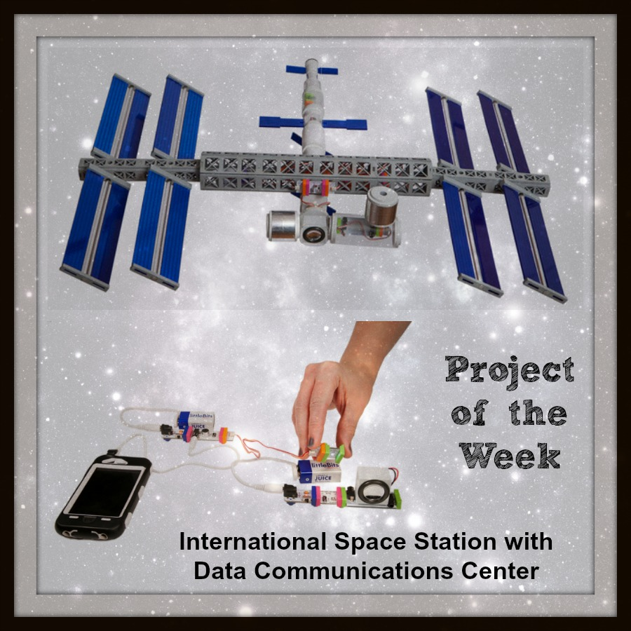 Project of the Week for June 9: Space Station with Data ...